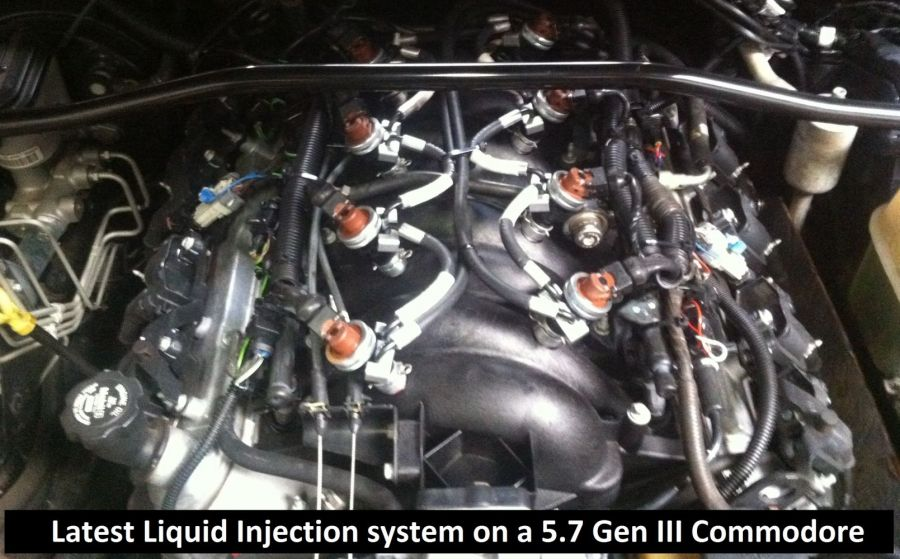 Liquid Injection 5.7 Gen III